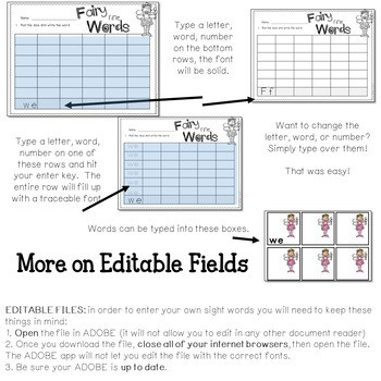 Math and Literacy Center: Just Roll With It: February-editable 4