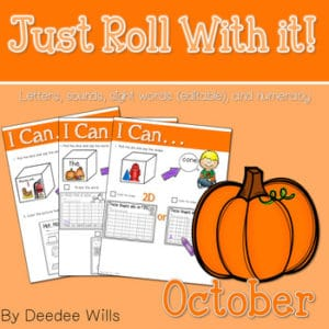 Kindergarten Math Centers | Halloween 6