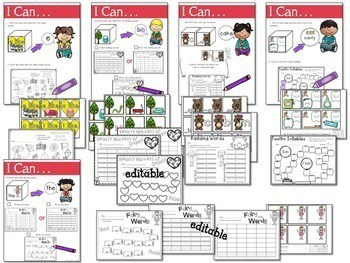 Math and Literacy Center: Just Roll With It The BUNDLE 2