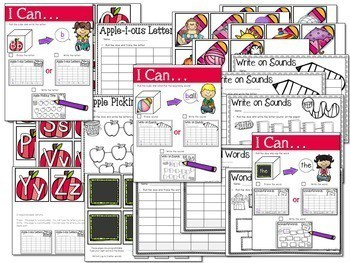 Math and Literacy Center: Just Roll With It The BUNDLE 3