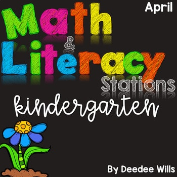 Math and Literacy Center for April 1