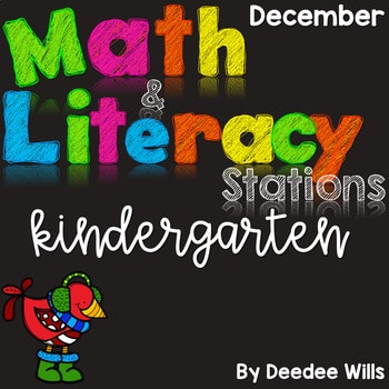 Math and Literacy Center for December 1