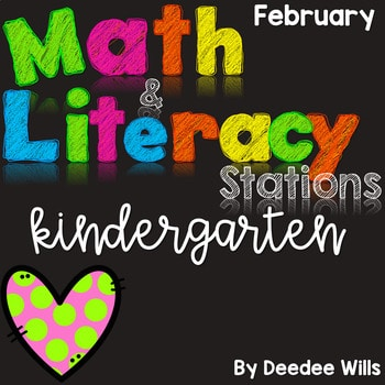 Math and Literacy Center for February 1