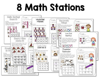 Math and Literacy Center for February 3