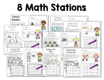 Math and Literacy Center for January 3