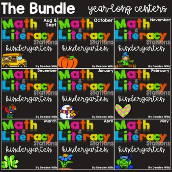 Math and Literacy Centers: BUNDLE 1