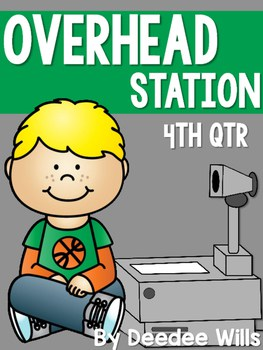 Overhead Station for 4th Qtr 1
