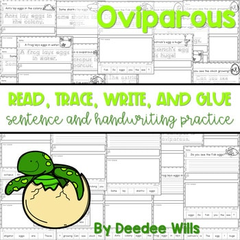 Oviparous: Read, Trace, Glue, and Draw 1