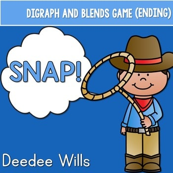 PHONICS ~ SNAP! Digraphs and Blends (Ending) 1