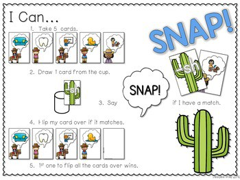 PHONICS ~ SNAP! Digraphs and Blends (Ending) 2