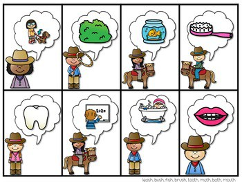 PHONICS ~ SNAP! Digraphs and Blends (Ending) 3