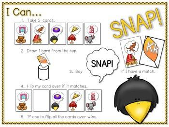 PHONICS ~ SNAP! Initial Sounds Phonics Game 2