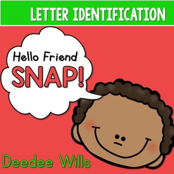 PHONICS ~ SNAP! Letter Identification Phonics Game 1
