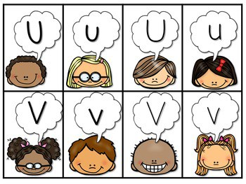 PHONICS ~ SNAP! Letter Identification Phonics Game 4