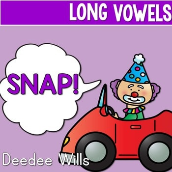 PHONICS ~ SNAP! Long Vowels Phonics Game 1
