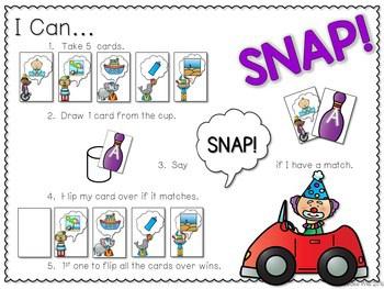 PHONICS ~ SNAP! Long Vowels Phonics Game 2