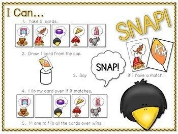 PHONICS ~ SNAP! Phonics Game Bundle 3