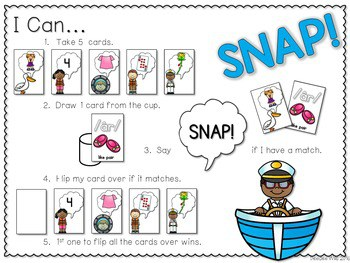 PHONICS ~ SNAP! R Controlled Vowels Phonics Game 2