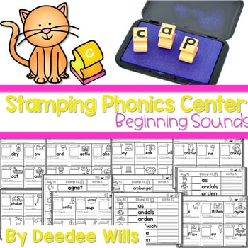 Phonics STAMPING Center ~ Beginning Sounds! 1
