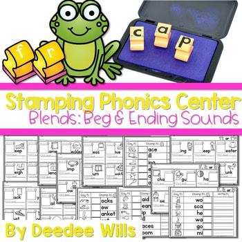 Phonics STAMPING Center ~ Blends! 1