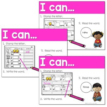 Phonics STAMPING Center ~ Long Vowels and Vowel Teams 2