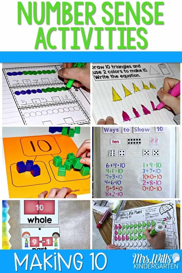 Number Sense Activities | Making Ten! 1