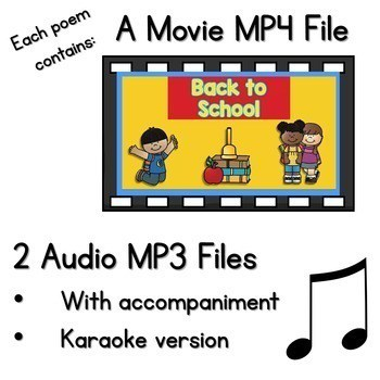 Poetry 2 Music and Video Files BUNDLE 2