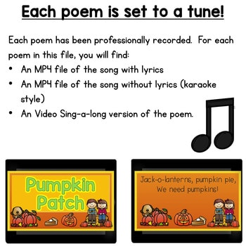 Poetry 2 Music and Video October 2