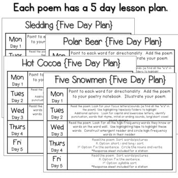 Poetry 2: Poems for January 4