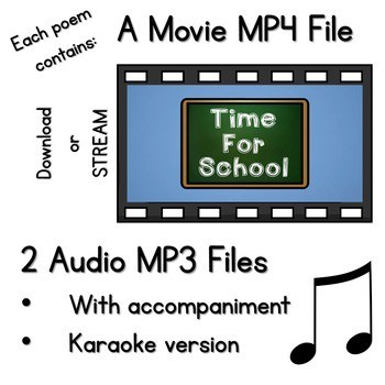 Seesaw Preloaded Poetry Music And Video Bundle 2