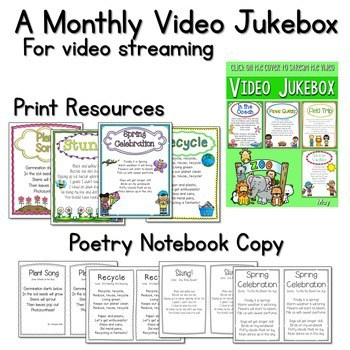 Seesaw Preloaded Poetry Music And Video Bundle 3