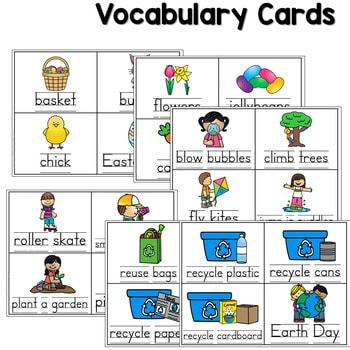 Predictable Sentences | Simple Sentences for April 3
