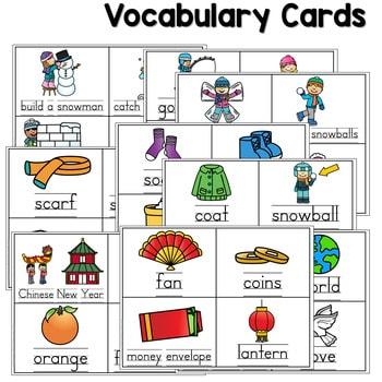 Predictable Sentences | Simple Sentences for January 3