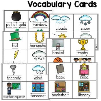 Predictable Sentences | Simple Sentences for March 3