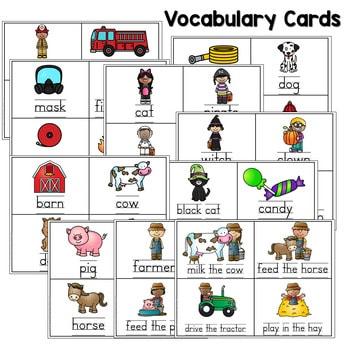 Predictable Sentences | Simple Sentences for October 3