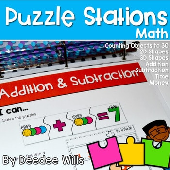 Puzzle Centers and Stations MATH 1