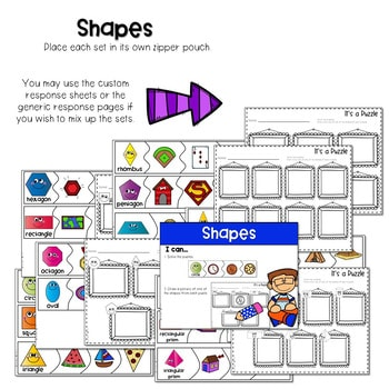 Puzzle Centers and Stations MATH 4