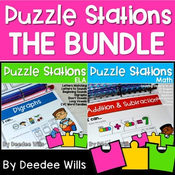 Puzzle Centers and Stations THE BUNDLE 1