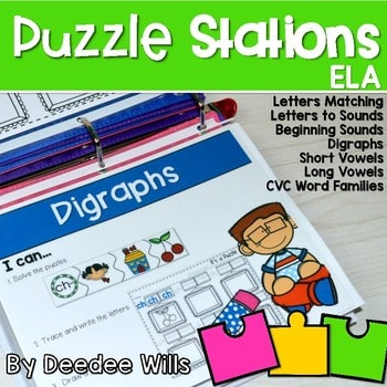 Puzzle Centers and Stations 1