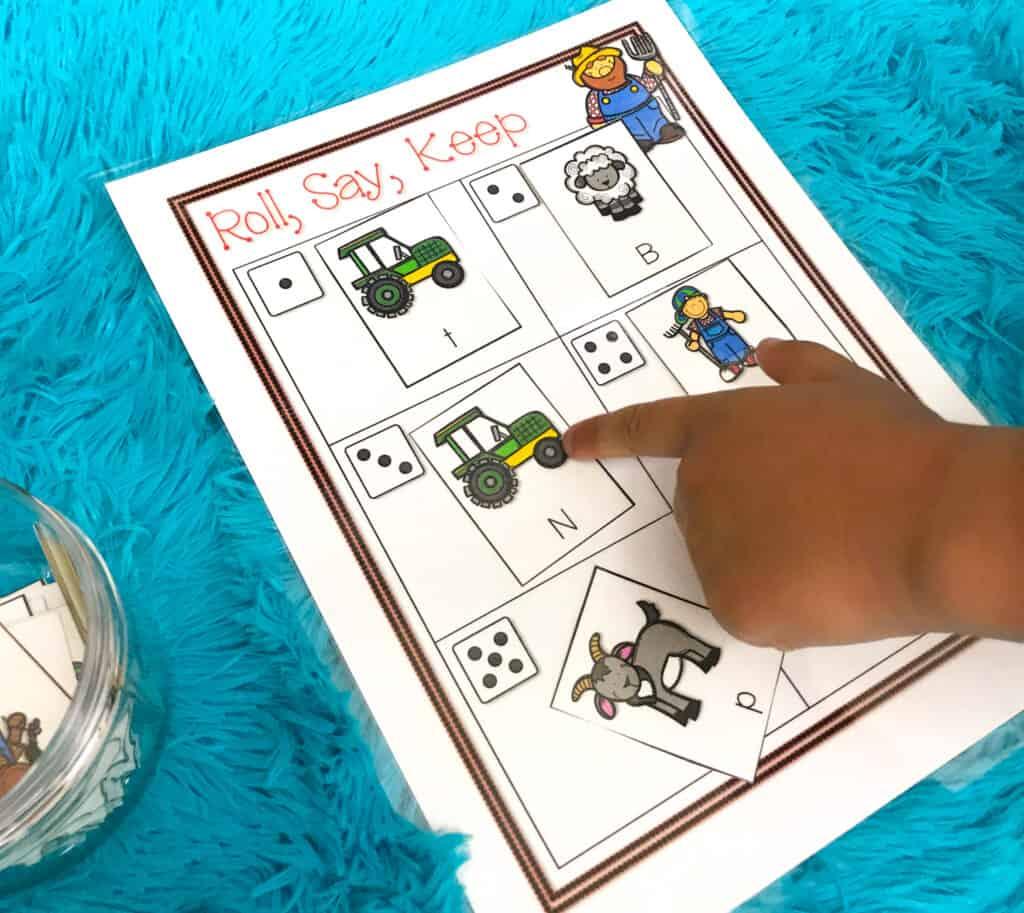 Roll Say Keep Math Games