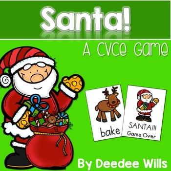 Santa!!! CVCe Memory Match and Game 1