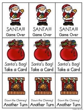 Santa!!! CVCe Memory Match and Game 4