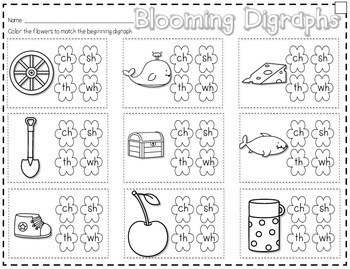 Save My INK: April NO PREP Math and Literacy Activities 2