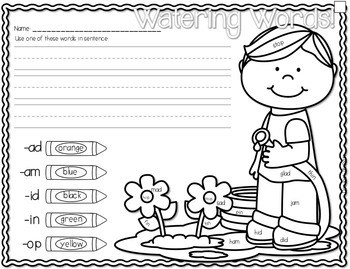 Save My INK: April NO PREP Math and Literacy Activities 3