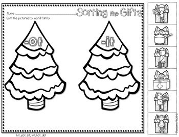 Save My INK: December NO PREP Math and Literacy Activities 2