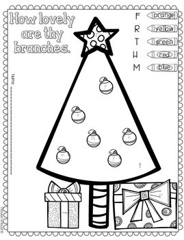 Save My INK: December NO PREP Math and Literacy Activities 3