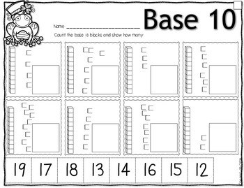 Save My INK: March NO PREP Math and Literacy Activities 4