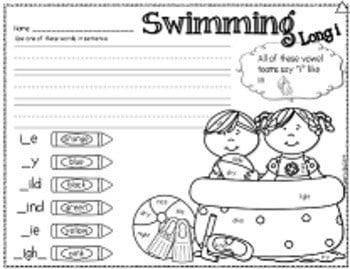 Save My INK: May NO PREP Math and Literacy Worksheets 3