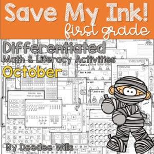 Write the Room 1st Grade: April 7