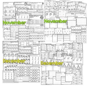 Save My Ink 1st Grade Worksheets Bundle 3